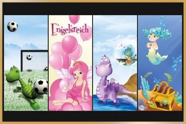 Blackys Sims 4 Zoo: Kids walls by Schnattchen