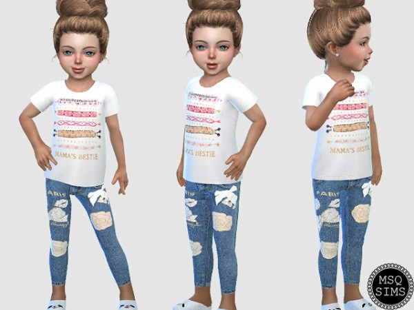 MSQ Sims: Toddler Jeans 02