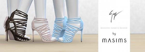 MA$ims 3: Alien Cage Sandals
