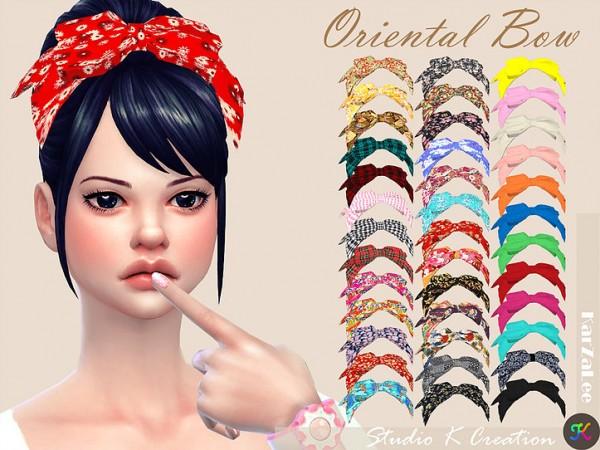 Studio K Creation: Oriental head bow