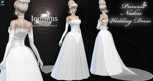 Jom Sims Creations: Princesse nadess dress