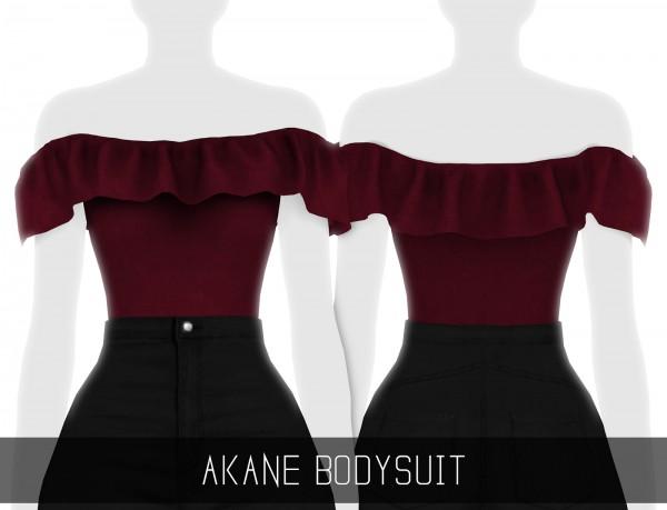 Simpliciaty: Akane bodysuit