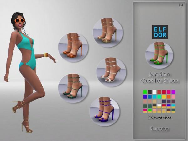 Elfdor: Madlen Goshtar Shoes Recolored