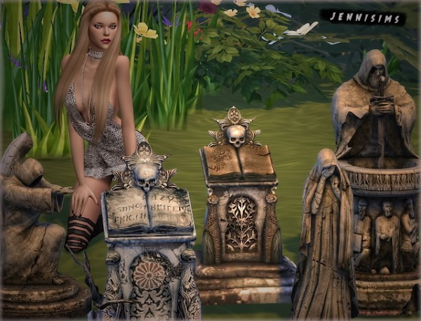 Jenni Sims: Necropolis Statues