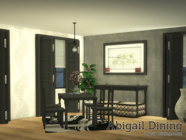 The Sims Resource: Abigail Dining by Angela