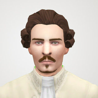History Lovers Sims Blog: King of Frace hair retextured