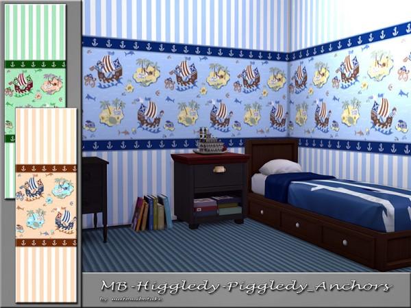 The Sims Resource: Higgledy Piggledy Anchors by matomibotaki