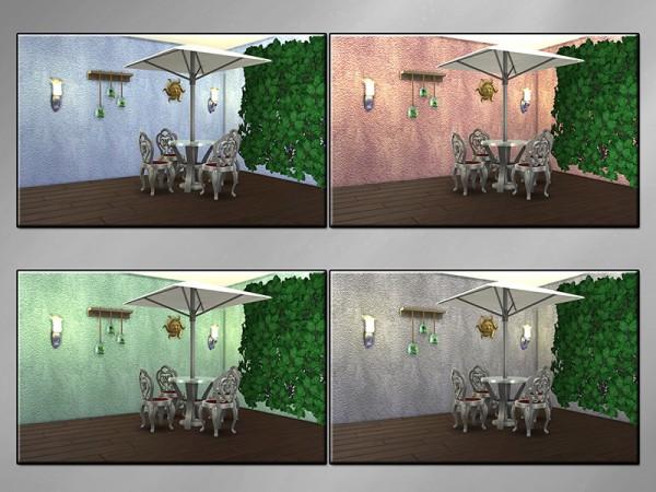 The Sims Resource: Stylish Stucco Q walls by matomibotaki