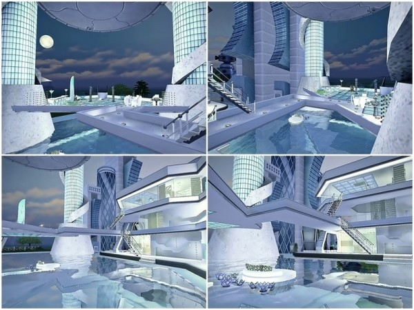 The Sims Resource: Future Vision Station earth by Moniamay72