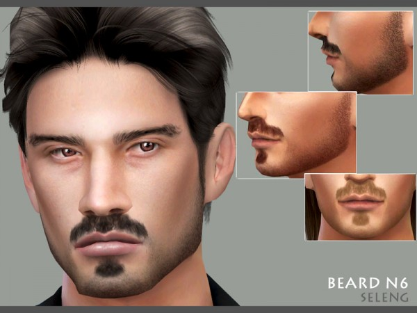 The Sims Resource: Beard N6 by Seleng