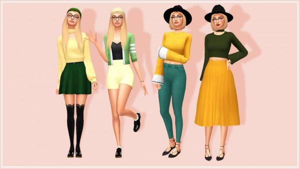 Aveline Sims: Ella and Elvina Everett