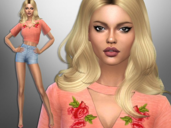 The Sims Resource: Riley Roza by divaka45