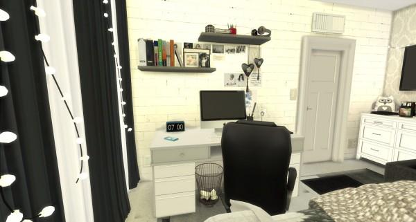 Pandashtproductions: Christina bedroom by Rissy Rawr