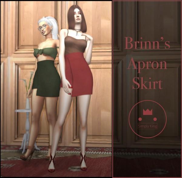 Simply King: Brinns Apron skirt