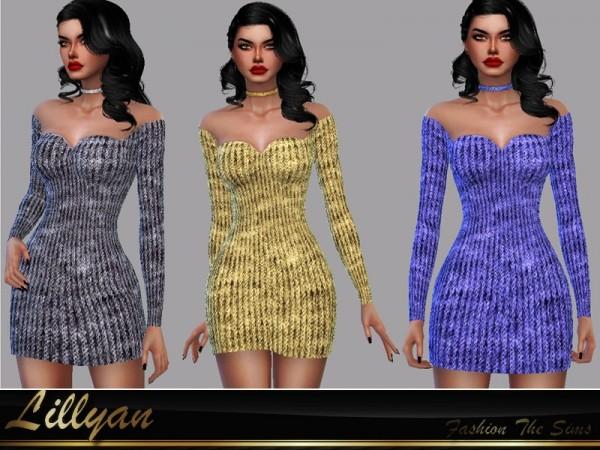 The Sims Resource: Dress Samanta by LYLLYAN