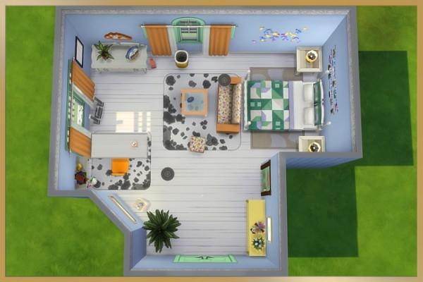 Blackys Sims 4 Zoo: Beatrix teenroom by Cappu