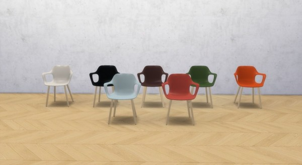 Meinkatz Creations: Hal armchair by vitra