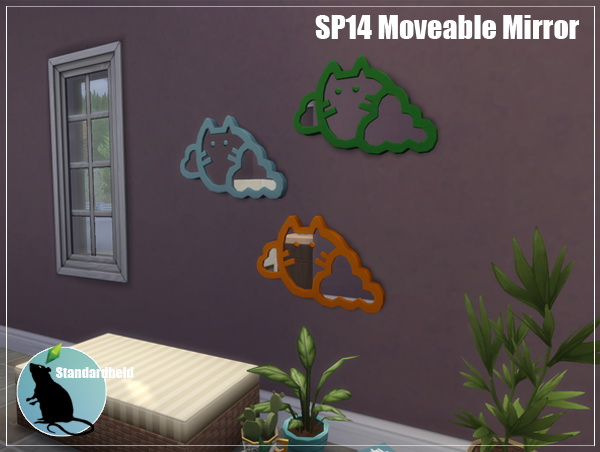 Simsworkshop: Moveable Mirror by Standardheld