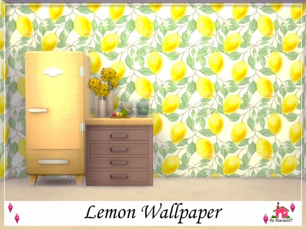 The Sims Resource: Lemon Wallpaper by sharon337