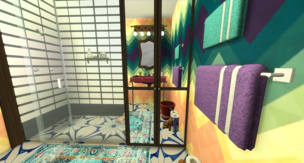Pandashtproductions: Veronika bathroom by Rissy Rawr