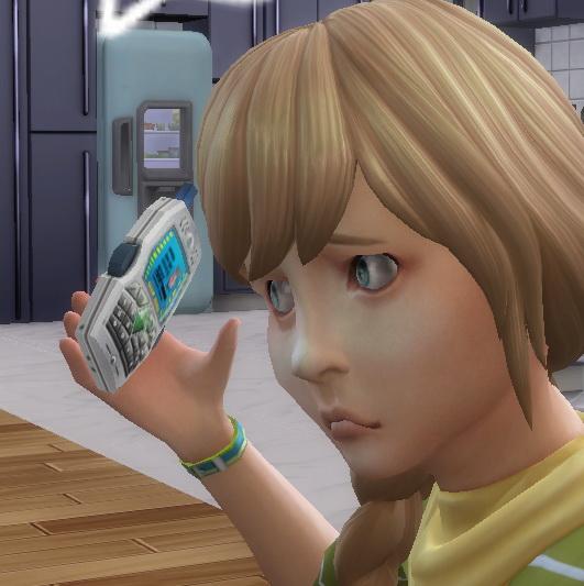 Simsworkshop: Cellphone as a toy by BigUglyHag