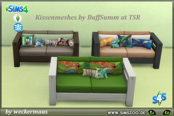 Blackys Sims 4 Zoo: Jungle fever sofa 2 by weckermaus