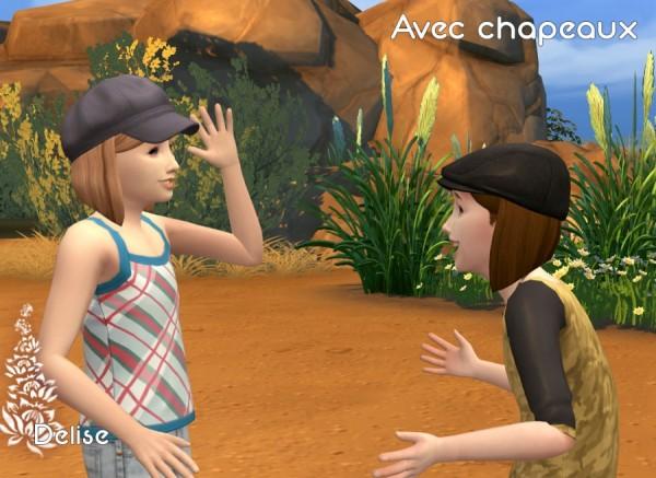 Sims Artists: Agathe hair