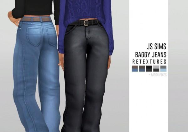 Simsworkshop: Baggy Jeans Retextures by catsblob