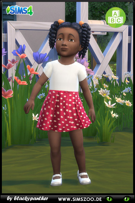 Blackys Sims 4 Zoo: Summer dress 8 by blackypanther