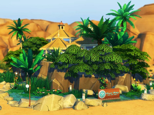 The Sims Resource: Tropicana Restaurant by dasie2