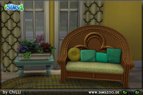 Blackys Sims 4 Zoo: MH Loveseat by ChiLLi
