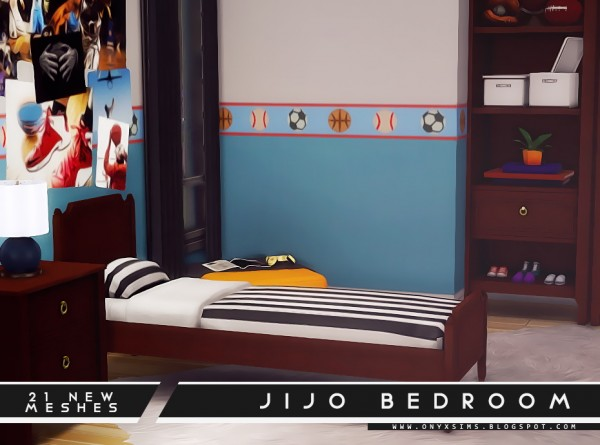 Onyx Sims: Jijo Bedroom Set