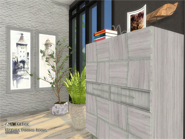 The Sims Resource: Natura Diningroom by ArtVitalex