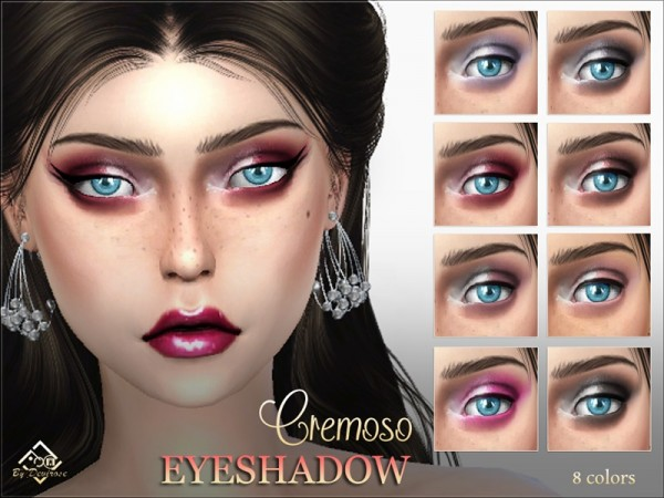 The Sims Resource: Cremoso Eyeshadow by Devirose