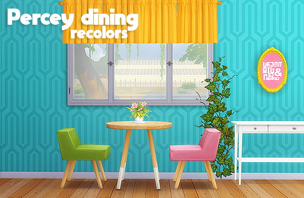 LinaCherie: Percey dining recolors