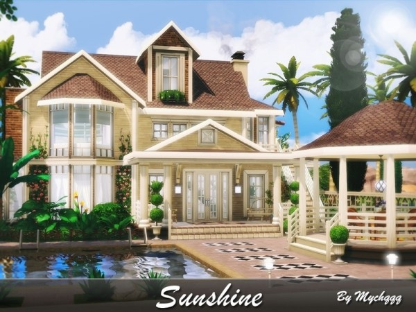 The Sims Resource: Sunshine house by MychQQQ