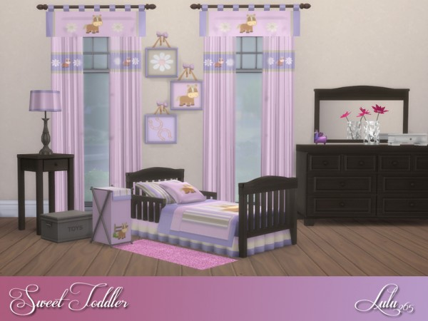 The Sims Resource: Sweet Toddler Bedroom by Lulu265 • Sims ...