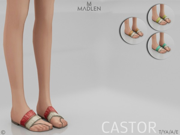 The Sims Resource: Madlen Castor Shoes by MJ95