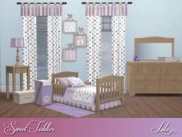 The Sims Resource: Sweet Toddler Bedroom by Lulu265