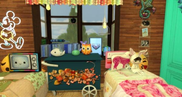 Pandashtproductions: Ian bedroom by Rissy Rawr