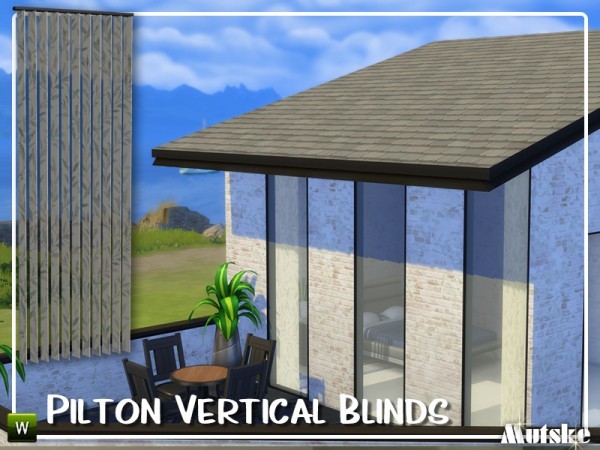 The Sims Resource: Pilton Vertical Blinds by mutske