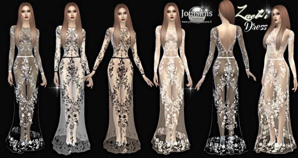 Jom Sims Creations: Zaelzi dress