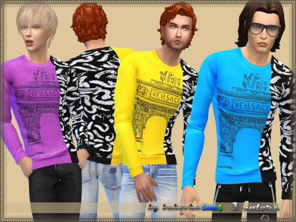 The Sims Resource: Sweater by bukovka