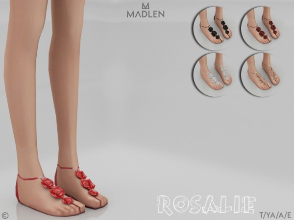 The Sims Resource: Madlen Rosalie Shoes by Mj95
