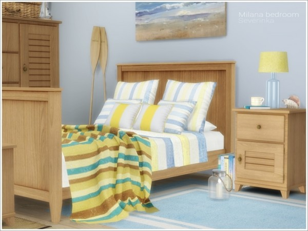 The Sims Resource: Milana bedroom furniture by Severinka