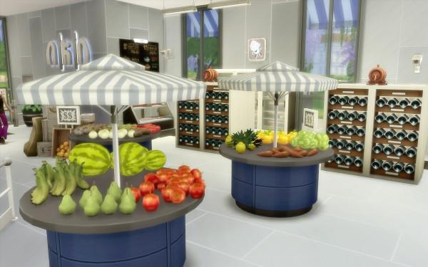 Via Sims: Supermarket