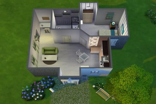 Blackys Sims 4 Zoo: Starter house Hope by MissFantasy