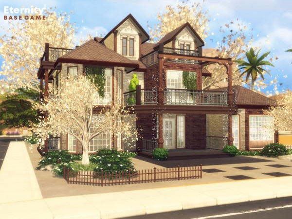 The Sims Resource: Eternity house by Pralinesims