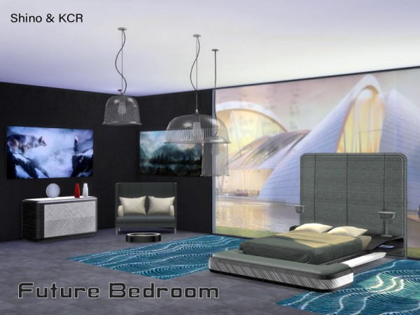 The Sims Resource: Bedroom Future by ShinoKCR