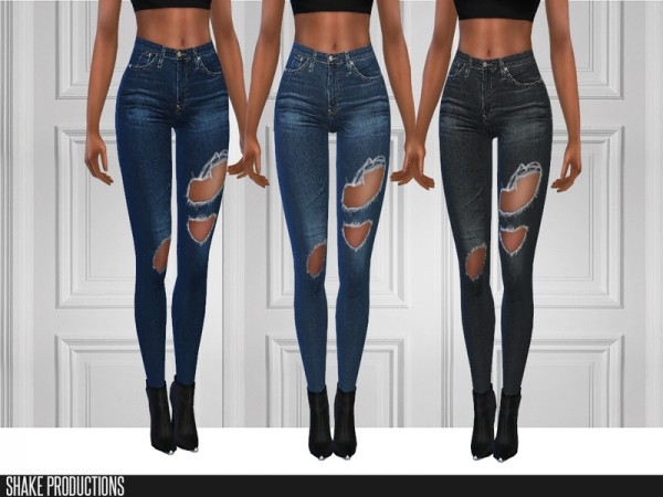 The Sims Resource: ShakeProductions 123 jeans set